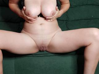 Spreading my legs and playing with my tities is my favourate thing to do, whats yours?