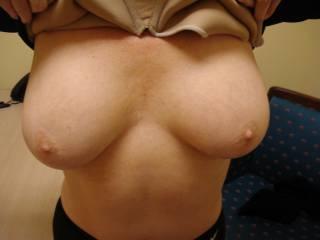 ghost nipple close up