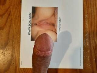 another request to cover pussy with my sticky cum