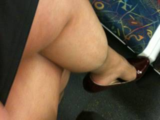 Hey please show off those sexy thick thighs I bet they look hot