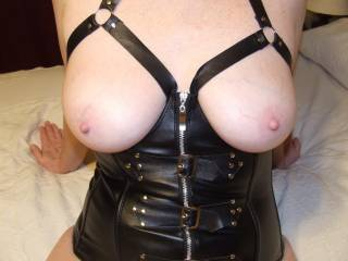 why not all of it...my cock is rockhard right now...awesome breasts and nipples...