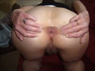 Oh my hard cock is rready to fuck you hard and long in both those delicious holes ...till you cum and cum .....mmm Greg UK