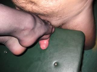 nylons trampling dick