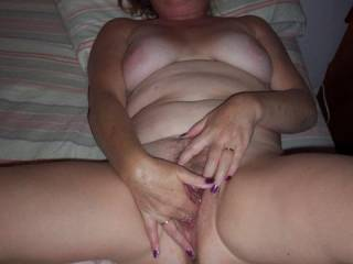I love to finger myself and play with my clit. Who wants to play with me? Please let me know.