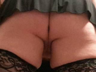 Up skirt shot