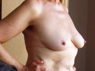 your natural mature tits are the best i could suck them for hours