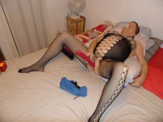 hi just me having some me time with my toys comments always welcome mature couple