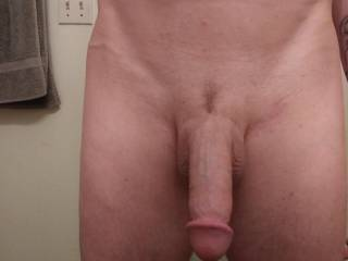 Just trimmed and freshly out of the shower..Rate or comment