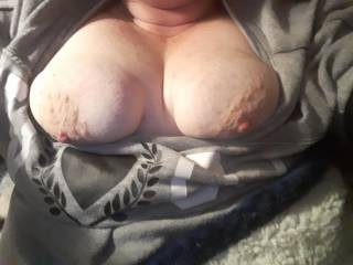 Laying in bed. Needing a great fuck. Is anyone horny?