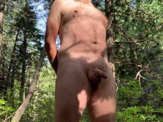 Enjoying the great outdoors
