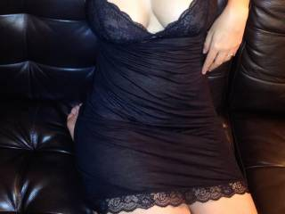 chilling on the couch with my bed outfit, come near me?