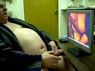 Enjoying jerking off and cumming watching Manyfeathers hot wife masturbating and cumming!