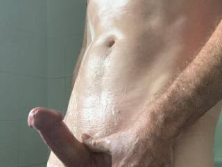 Needed a shower after working HARD all day