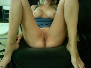 I so want to be between yr legs lapping at you as you push my face down onto that pussy... Love to slide my cock in and massage yr clit until u cum too