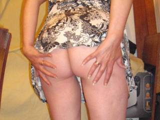 How about a little spanking on that sexy bottom of yours ?????.