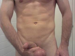 mmmmm I would love to feel those slapping against my pussy as you pounded me with that thick cock ;)  Would also love to drain those in every one of my holes