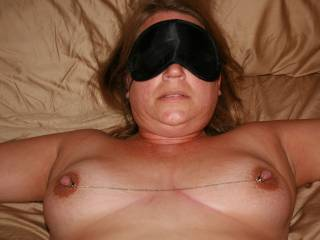 you should of also gave her the pleasure of other men fucking her while she was blindfolded ;)