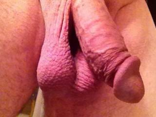 She loves to suck my smooth Cock and Balls