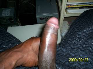 I'm rubbing my hard clit while watching ur bbc, u make me hot and horny