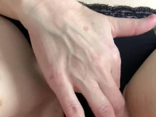 Wife's gf on her last visit here watching my wife and I have sex