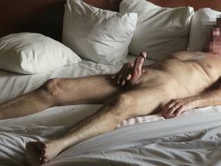 When I see a photo like this of Mr. F, I am reminded of how thick his cock really is.  No wonder it feels so good when he fucks me!  From Mrs. Floridaman