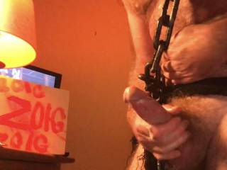 Chained COCK. Do you LIKE this pic? Check out my Halloween Video post, HORNY DEVIL 2 : THE FANTASY