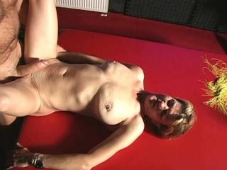 youre two are a nice couple. hes got a huge cock and she has on of the most beautiful tits ive ever seen. thanks for showing me this