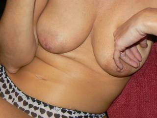Mmmm! Love to slide my hard cock between those lovely tits and cover them in hot creamy cum! xxx