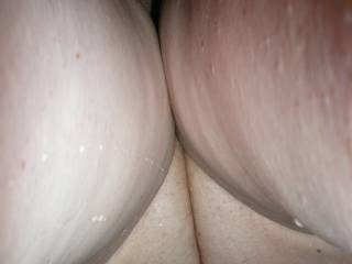 shot of the pussy from underneath