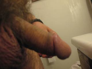 side shot of my cock