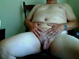 Stroking my fat cock to your pic right now