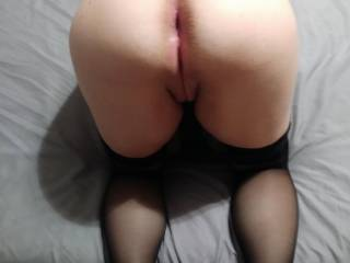 Bent over Lady