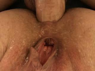 Kiki being a good anal whore and spreading her pussy so we can get a good look! Do you like the way Kiki looks with her pussy spread and a fat cock in her asshole?