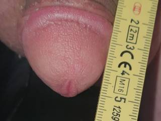 Measured my clitty its 4 cm nearly 2 inch