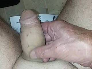 Looking at my cock buddy\'s had to jack my cock off ooh yes