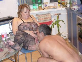 sex on a kitchen