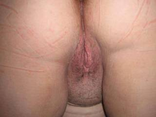 This is one of the best views ever  sweet ass and pussy  mmmmm  Thanks for the boner before work