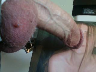 For the yummy sluttycumwhore! My big cock in her face.