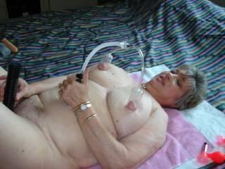 Pump those big nipples