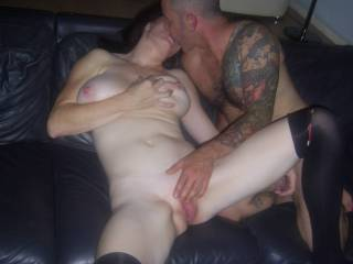 I would love to give your pussy a good licking and make it wet ready for you to take his great cock mmmmmmmm