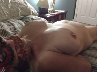 blindfolded and muffled - nothing for her to do but get FUCKED