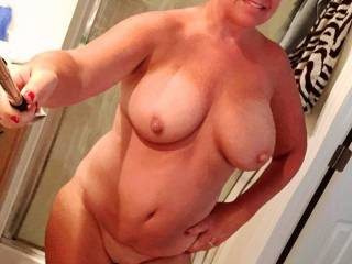 Oh My! Yummy is right! If only she was riding my cock taking selfies I would be a very happy man =). I just can't decide what part of her I like better ;).  XoxO  Deep.Throat.Her.