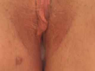 Cum filled pussy