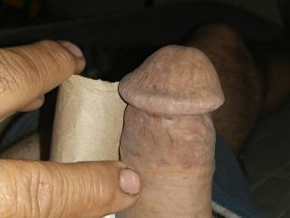 My morning cock before he gets big and thick