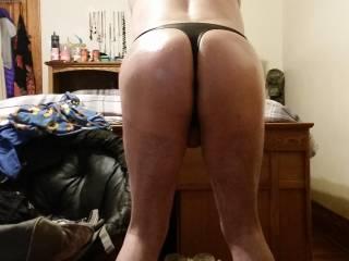 Ass in my thong