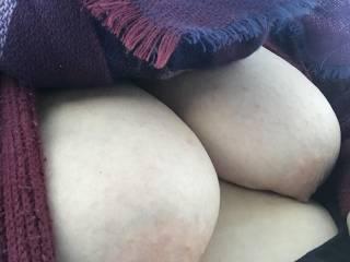 Outdoor Tit flash !