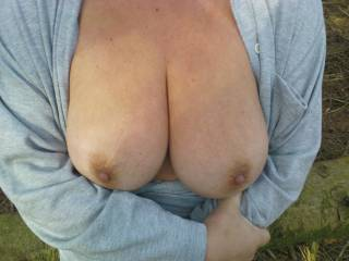 These tits must be the best on this site, perfect ,keep them coming and some more please just hanging down! Thanks Mrs S