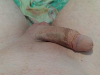 Just shaved now to put cockrings  back in