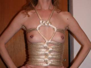 wow - some very sexy photos - did you learn this rope trick on YouTube?