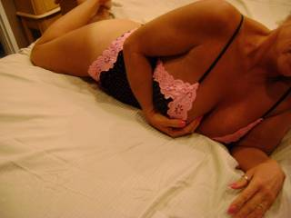 love the lingerie very sexy it got my man nice and horny.